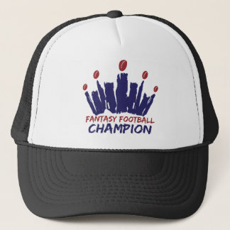 Casquette Champion du football d'imaginaire