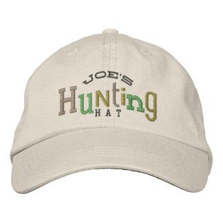 Casquette chanceux de broderie de chasse casquette brodée