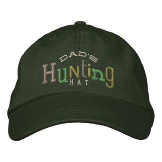 Casquette chanceux de broderie de la chasse du casquette brodée