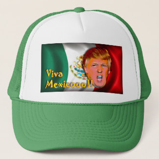 Casquette Chapeau d'atout du Mexique anti-Donald de vivats