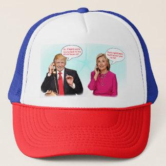 Casquette Chapeau de conversation téléphonique de Donald et