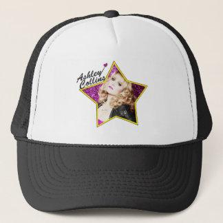 Casquette Chapeau noir et blanc d'étoile d'Ashley Collins