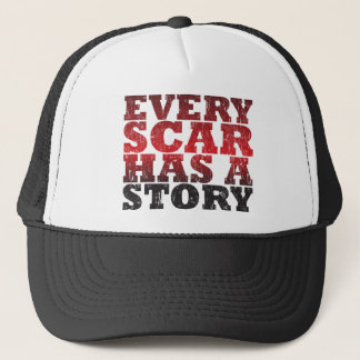 Casquette Chaque cicatrice a une histoire