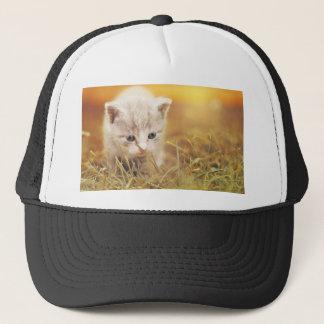 Casquette Charme mignon d'animal de compagnie de chaton de