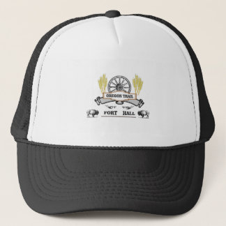 Casquette charrue de blé de hall de fort