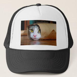Casquette Chat de papier - chats drôles - meme de chat -