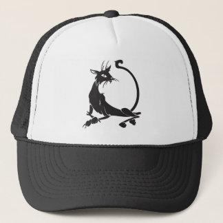 Casquette Chat noir de détente