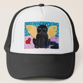 Casquette Chat pelucheux d'ange