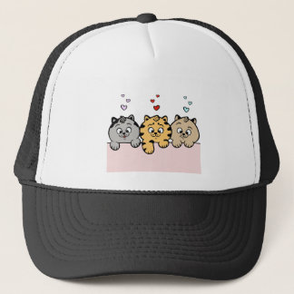 Casquette chatons