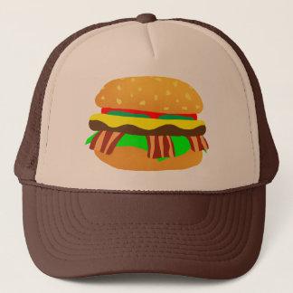 Casquette Cheeseburger de lard
