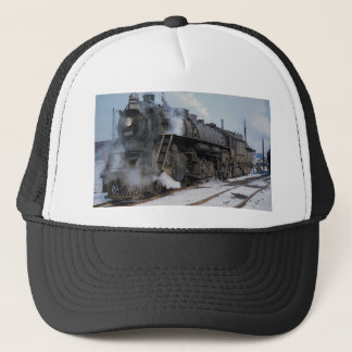 Casquette Chemin de fer occidental de tronc grand, 2-8-4,