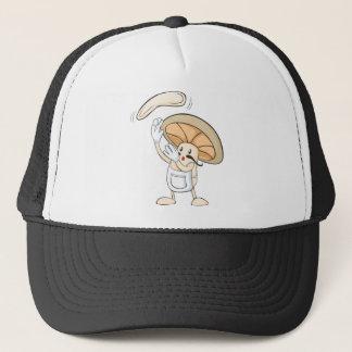 Casquette Chemises de champignon - pâte de Baker de chef de