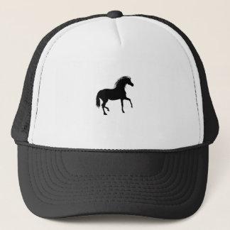 Casquette Cheval noir