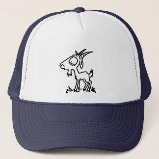 Casquette Chèvre inquiétée (simple)
