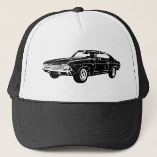 Casquette Chevrolet 1969 Chevelle 396 solides solubles