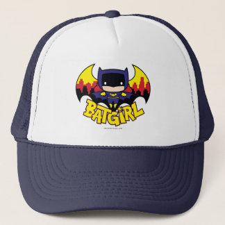 Casquette Chibi Batgirl avec l'horizon et le logo de Gotham