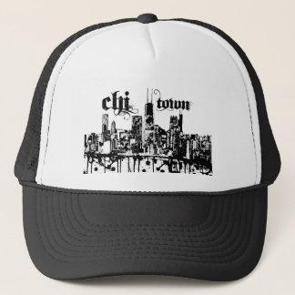 """Casquette Chicago """"chi-ville"""" a mis dessus pour votre ville"""