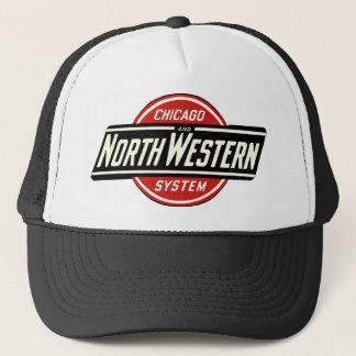 Casquette Chicago et logo du nord-ouest 1 de chemin de fer