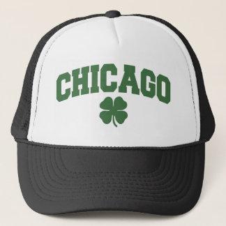 Casquette Chicago (shamrock irlandais)