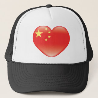 Casquette Chinese_heart_flag
