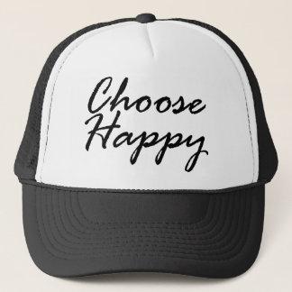Casquette choisissez happy3