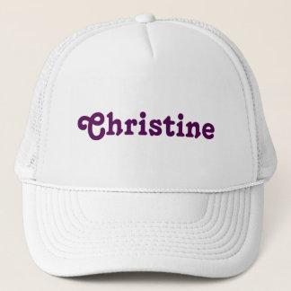 Casquette Christine