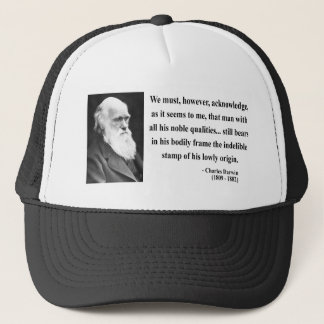Casquette Citation 1B de Charles Darwin