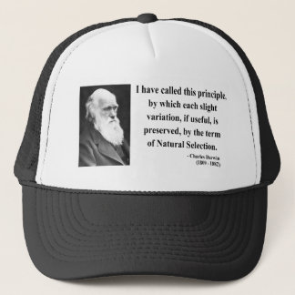 Casquette Citation 6b de Charles Darwin