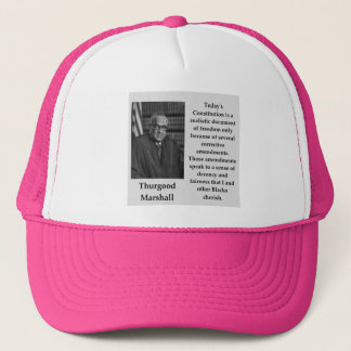 Casquette Citation de Thurgood Marshall