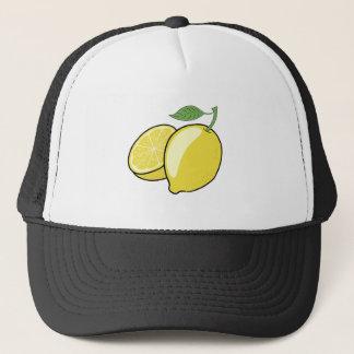 Casquette Citron