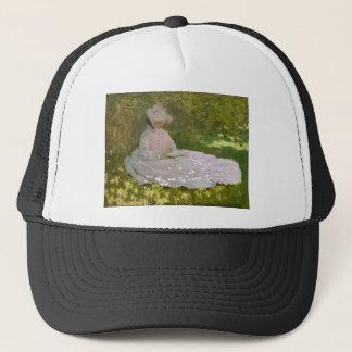 Casquette Claude Monet - oeuvre d'art de printemps