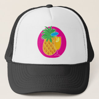 Casquette Cocktail d'ananas