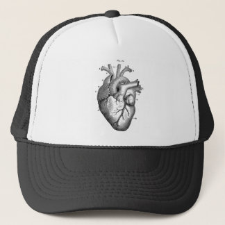 Casquette Coeur anatomique noir
