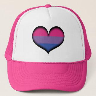 Casquette Coeur bisexuel