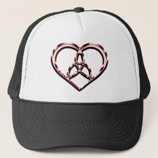 Casquette coeur celtique