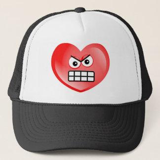 Casquette Coeur fâché