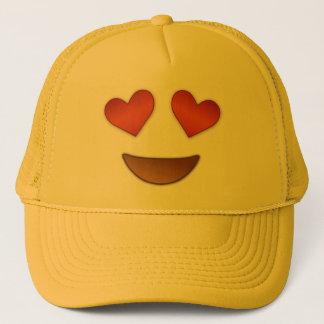 Casquette Coeur mignon pour l'emoji de yeux
