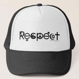 Casquette Coexistent avec le respect - la gentillesse et la