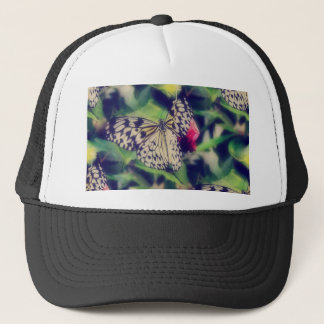 Casquette Collage de papillon