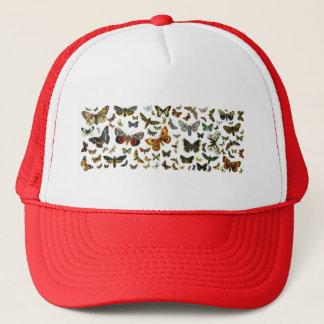 Casquette Collage européen de papillon