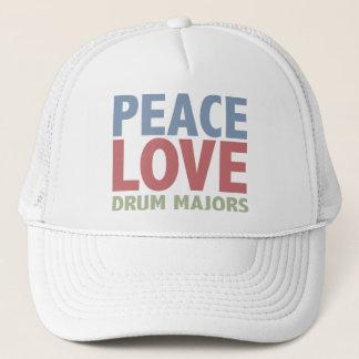 Casquette Commandants de tambour d'amour de paix