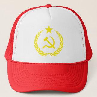 Casquette communiste de camionneur de drapeau de