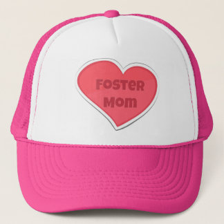 Casquette Conception adoptive de coeur de rose de maman