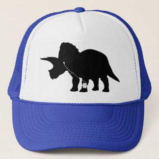 Casquette Conception affectueuse de Triceratops de musique