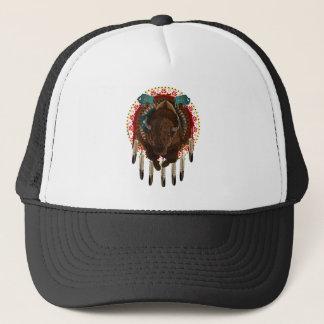 Casquette Conception de Buffalo de Natif américain de