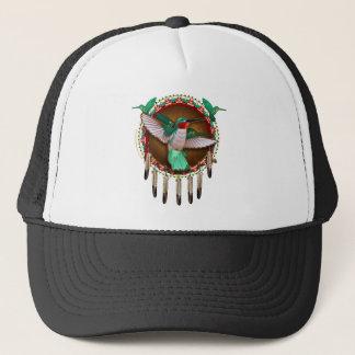 Casquette Conception de colibri de Natif américain