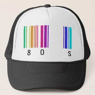 Casquette conception de la couleur 80s !