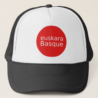 Casquette Conception de langue Basque