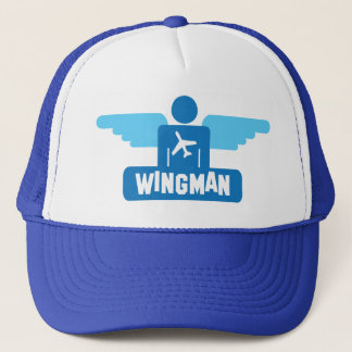 Casquette conception de pilote de wingman
