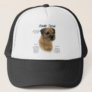 Casquette Conception d'histoire de Terrier de frontière